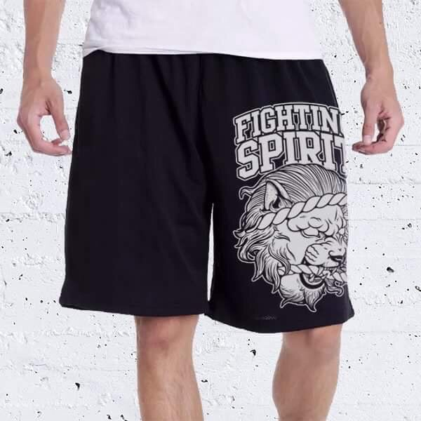 Image of Fighting Spirit- Basketball shorts