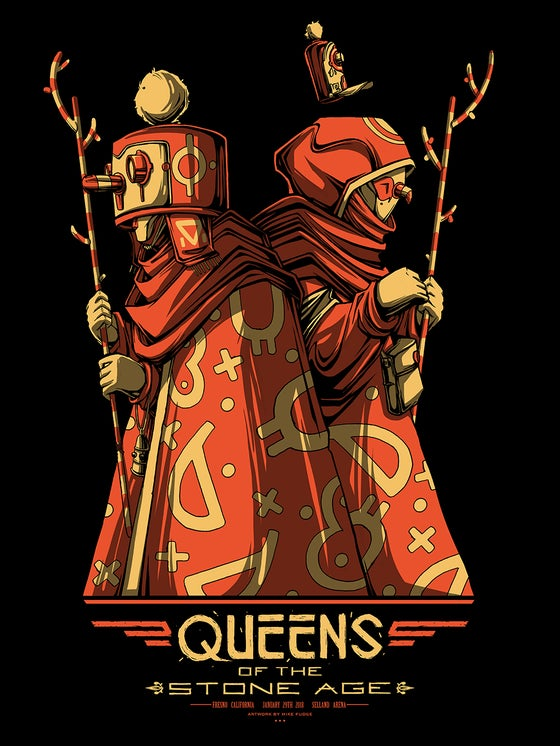 Image of Queens of the Stone Age - Fresno, CA