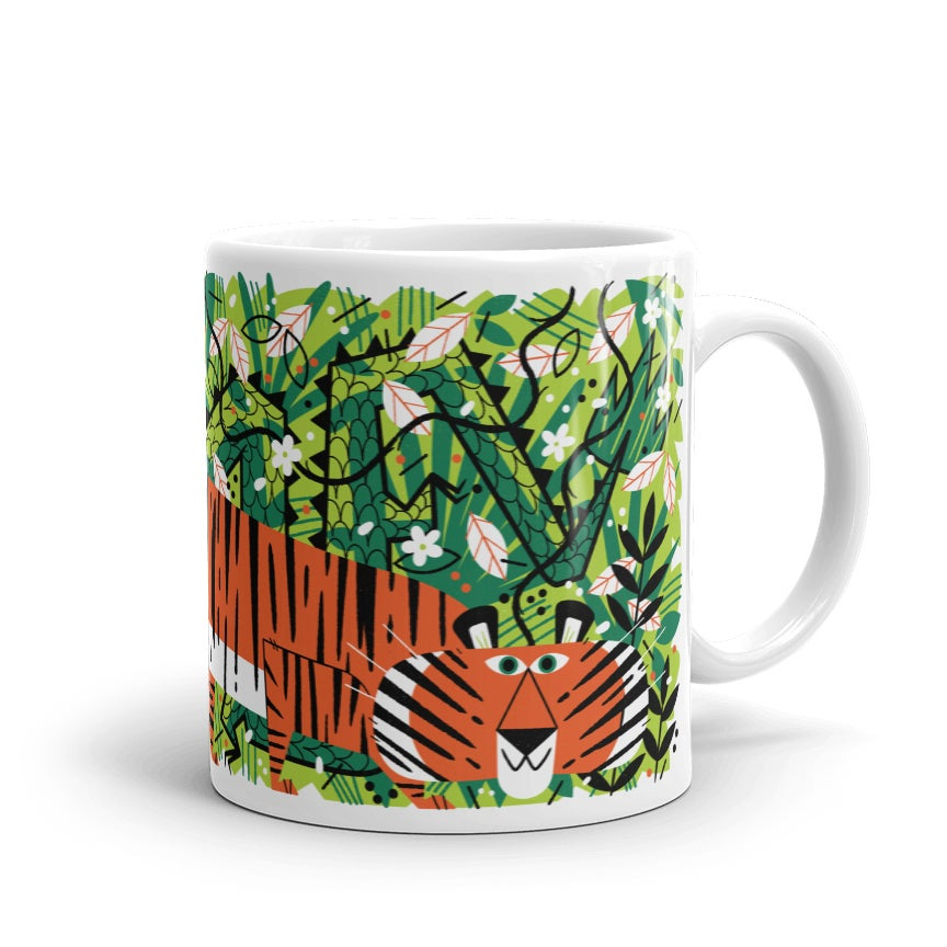Image of Crouching Tiger Mug