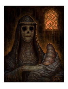 """Image of """"The Green Nun"""" Limited Edition Paper Print"""