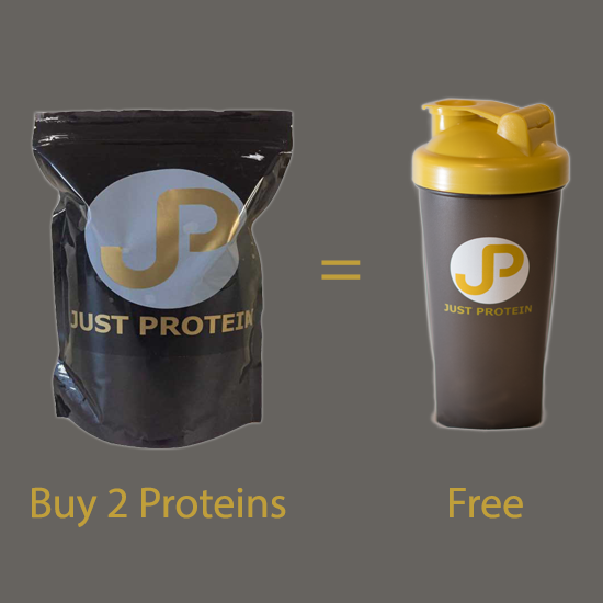 Image of 2 kg of Protein and receive a free shaker