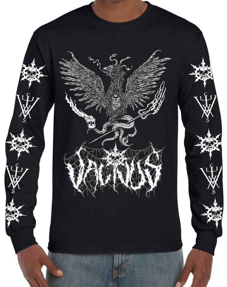 Image of 'Black Flame Serpent' Longsleeve
