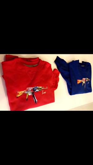 "Image of ""Luxury"" multi color sweatshirt"