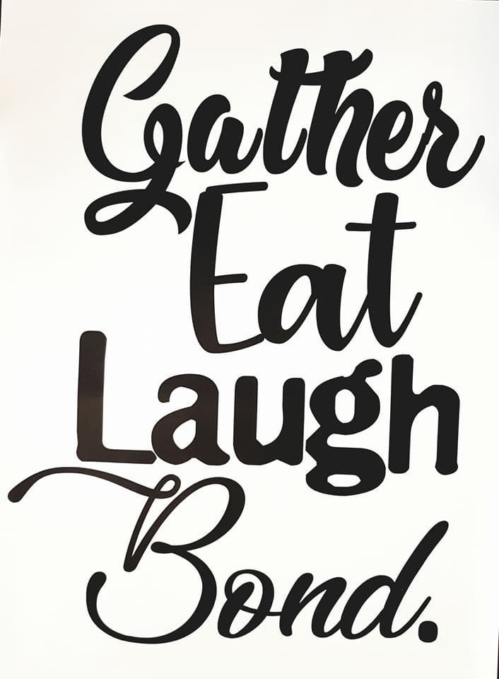 Image of Gather Eat Laugh Bond