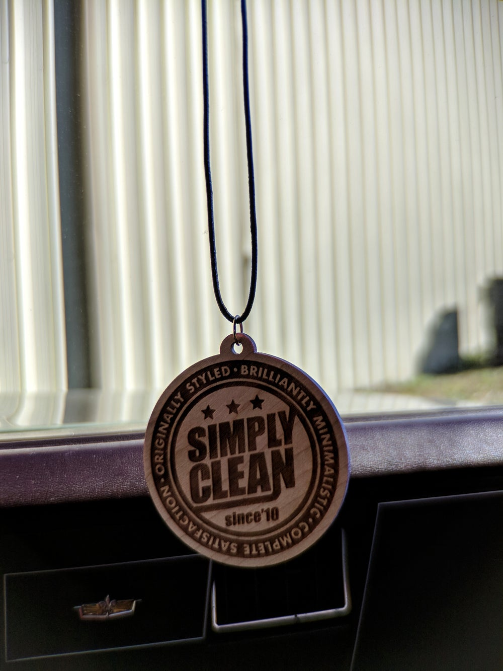 Image of Simply Clean Radical Wood Mirror Hanger