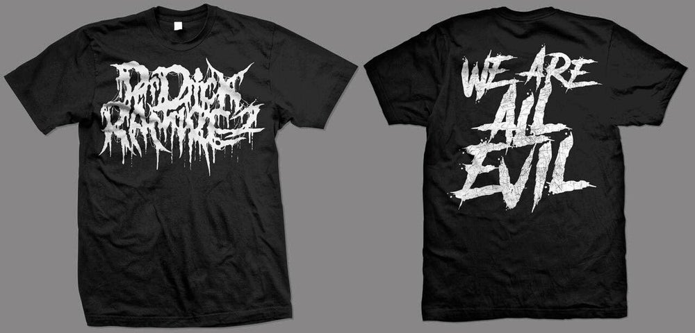 """Image of """"We are all evil"""" Short Sleeve"""