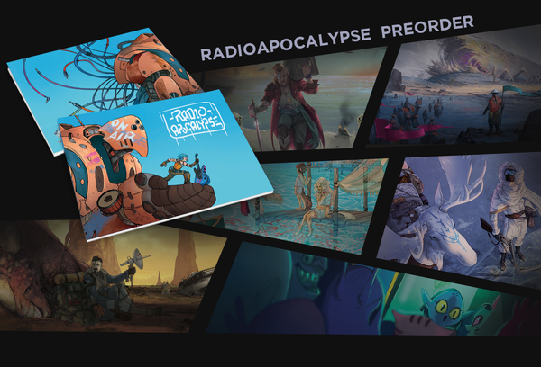 Image of RadioApocalypse Artbook