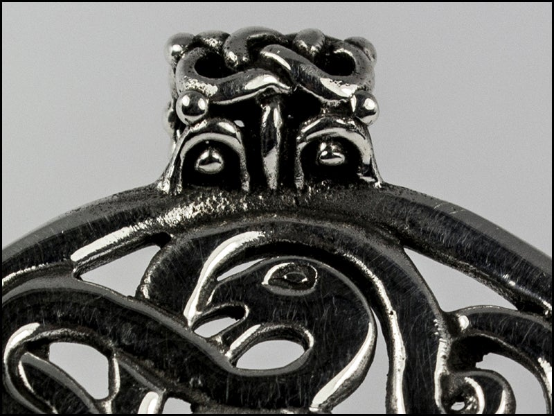 Image of Midgard Serpent and offspring Pendant