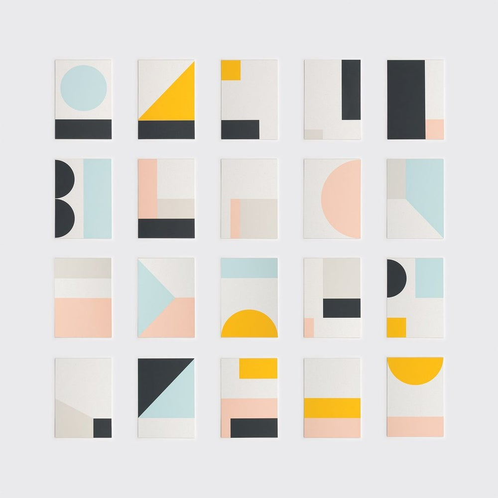 Image of Fragment 6 mini print by Tom Pigeon
