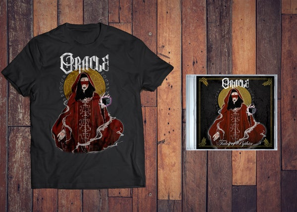 Image of TALES OF PYTHIA E.P/T-SHIRT BUNDLE