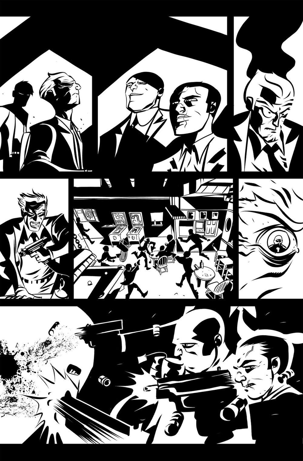 Image of DEFENDERS #8, p.06 ARTIST'S PROOF