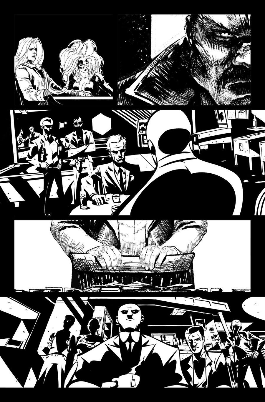 Image of DEFENDERS #8, p.04 ARTIST'S PROOF