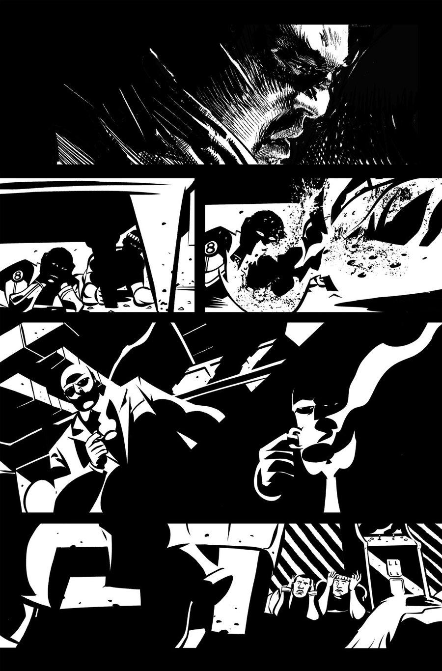 Image of DEFENDERS #8, p.07 ARTIST'S PROOF