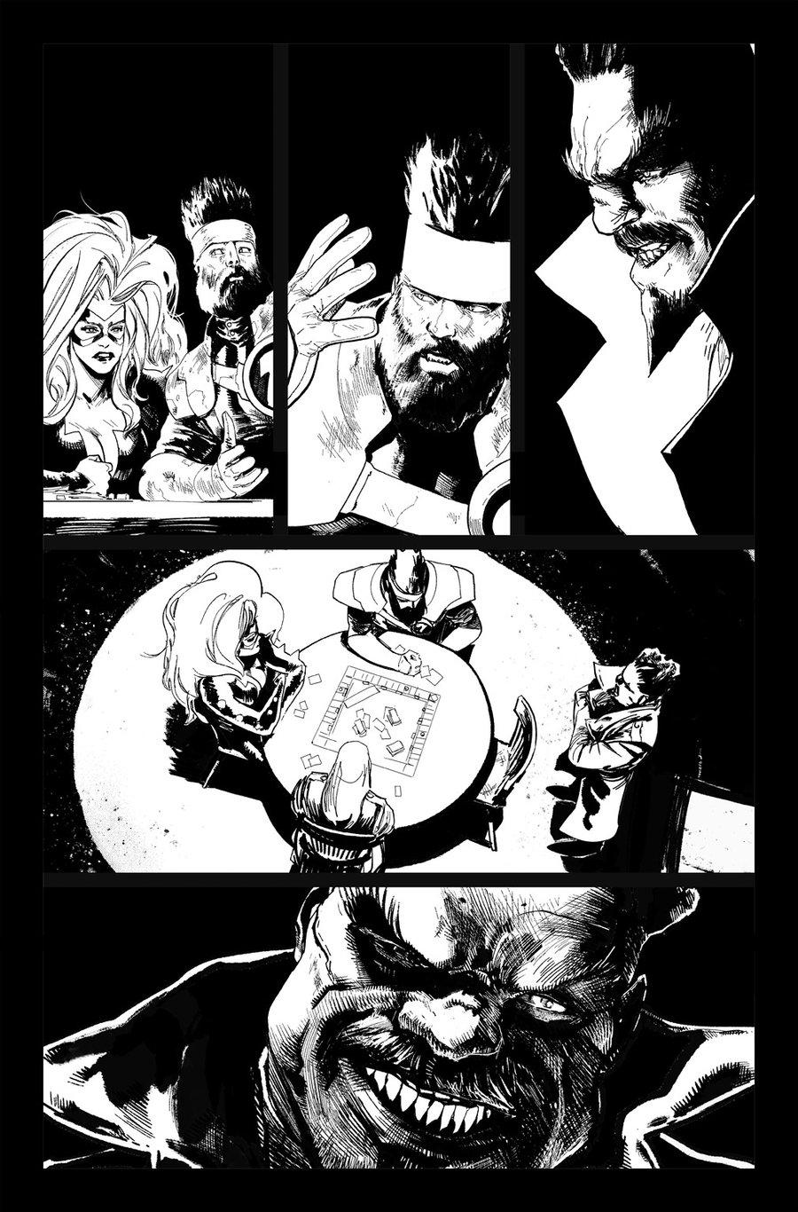 Image of DEFENDERS #8, p.09 ARTIST'S PROOF