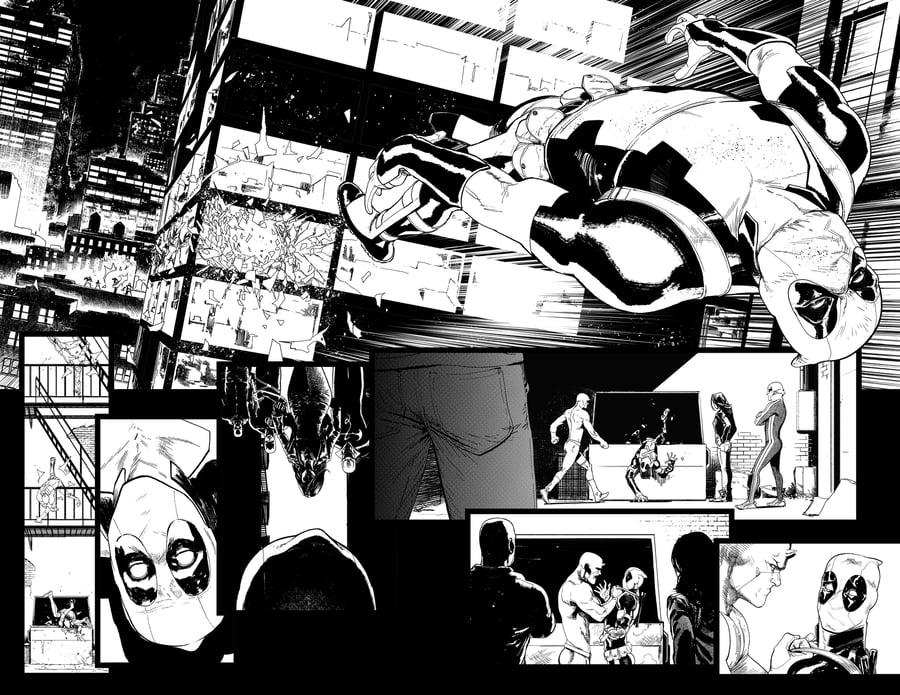 Image of DEFENDERS #8, p.11-12 ARTIST'S PROOF