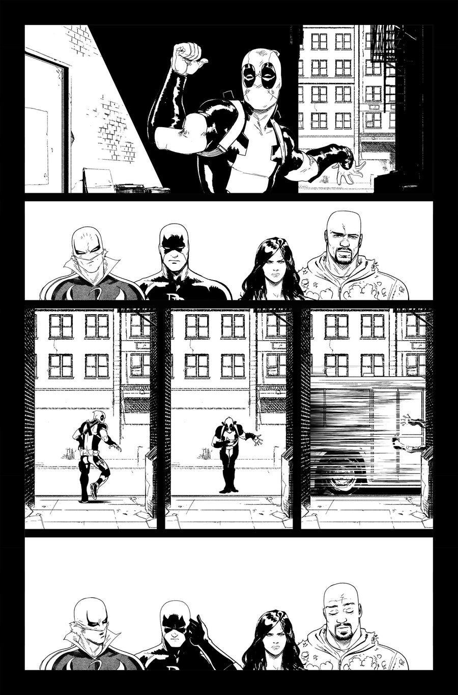 Image of DEFENDERS #8, p.15 ARTIST'S PROOF