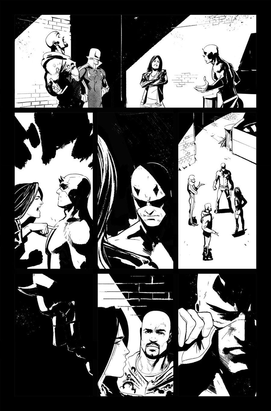 Image of DEFENDERS #8, p.16 ARTIST'S PROOF