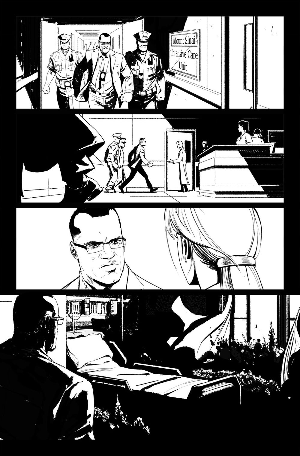 Image of DEFENDERS #8, p.18 ARTIST'S PROOF