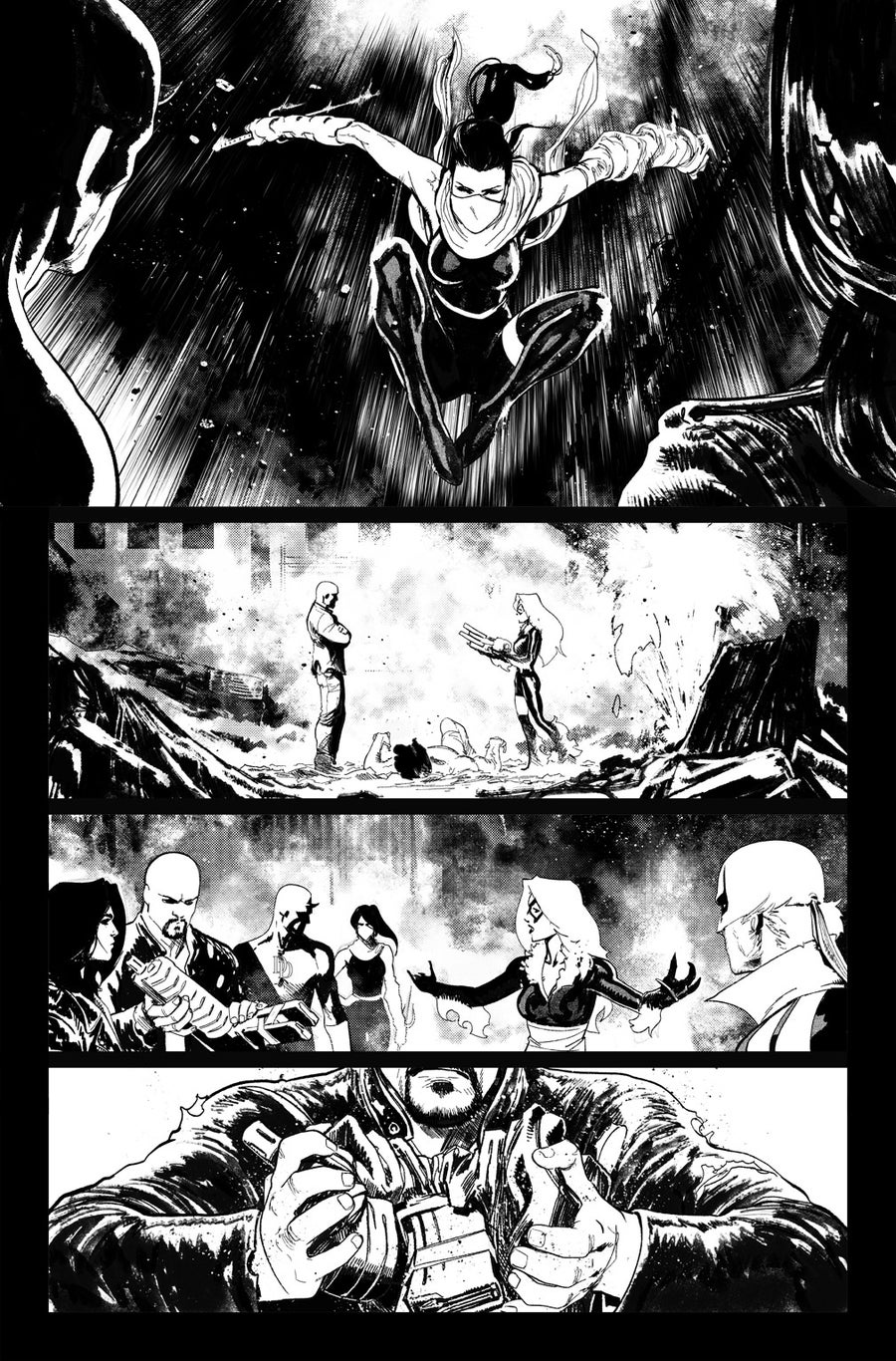Image of DEFENDERS #9, p.20 ARTIST'S PROOF