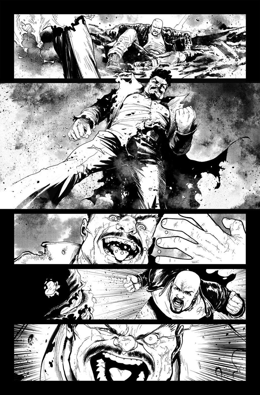 Image of DEFENDERS #9, p.16 ARTIST'S PROOF