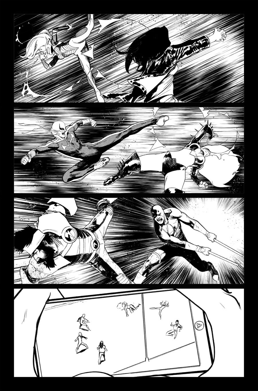 Image of DEFENDERS #9, p.14 ARTIST'S PROOF