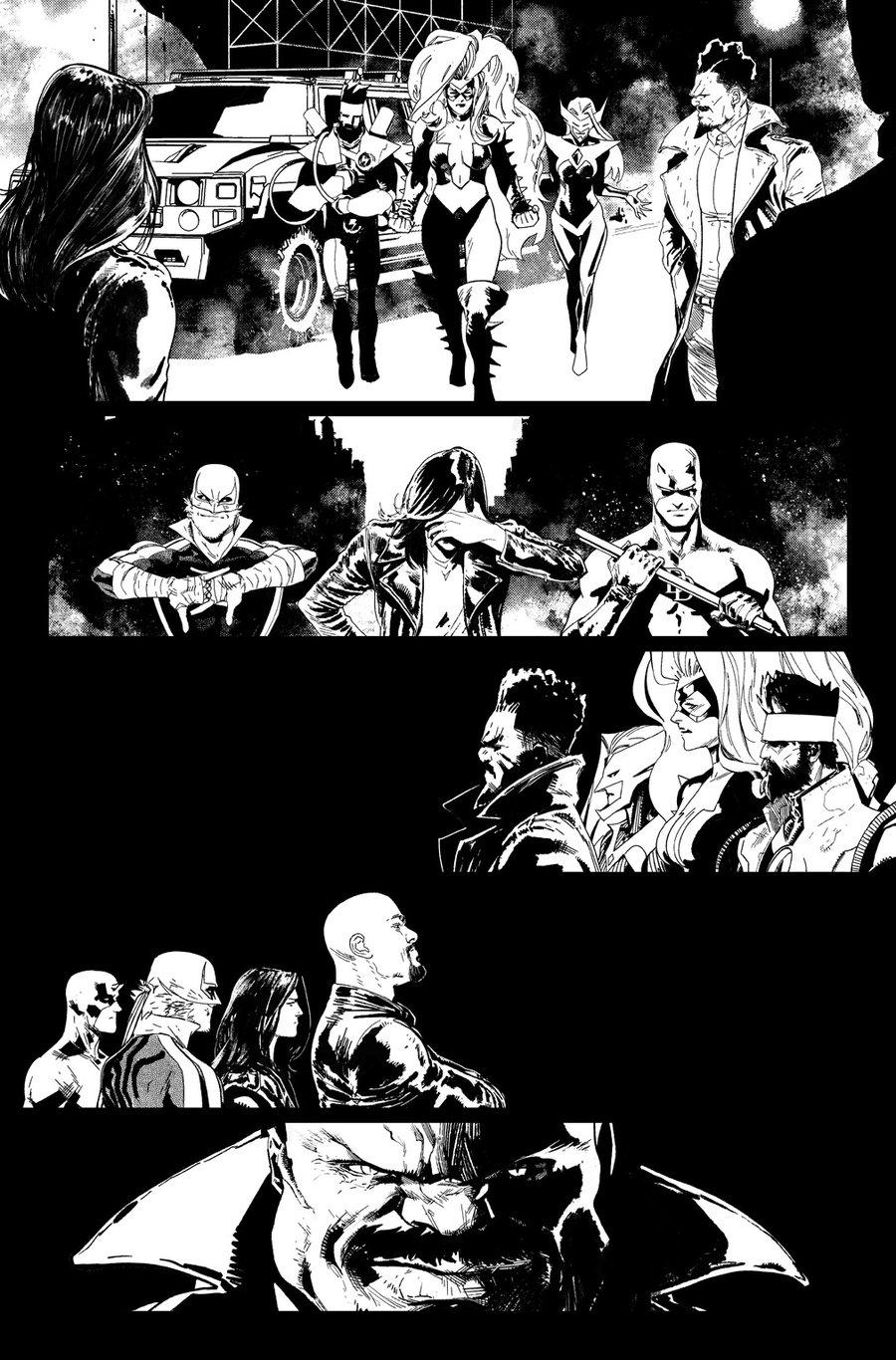 Image of DEFENDERS #9, p.08 ARTIST'S PROOF