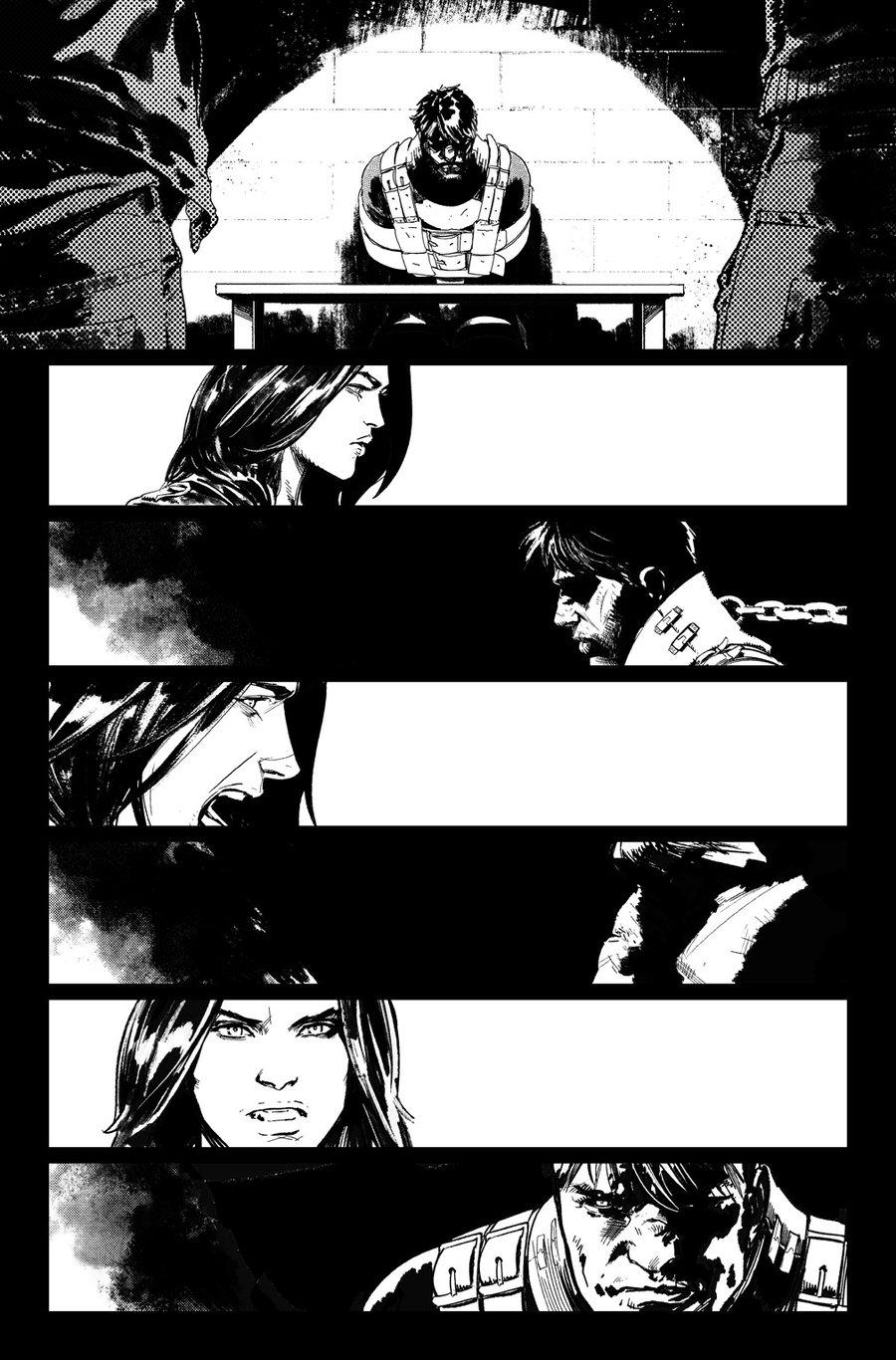 Image of DEFENDERS #9, p.05 ARTIST'S PROOF