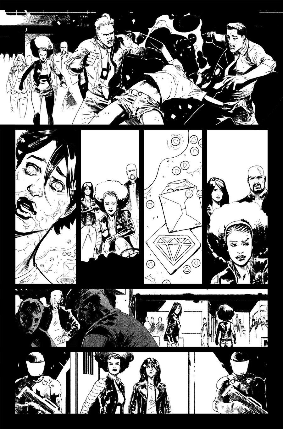 Image of DEFENDERS #9, p.04 ARTIST'S PROOF
