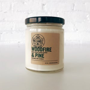 Image of Woodfire & Pine