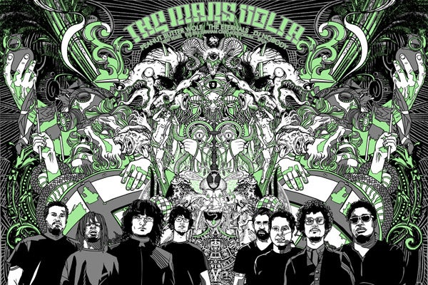 Image of The Mars Volta NYE Poster