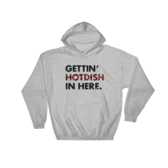 Image of Gettin' Hotdish in Here Hooded Sweatshirt