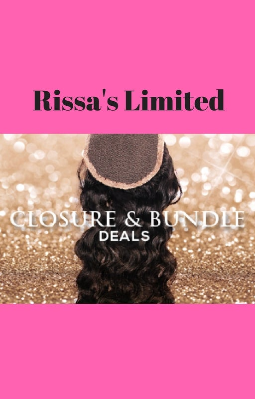 Image of Rissa's Limited Closure and 3 Bundle Deals