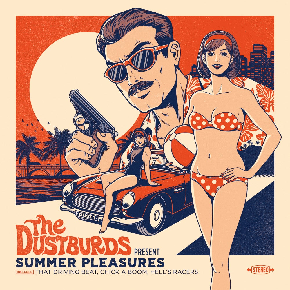 "Image of The Dustburds ""Summer Pleasures"" (Lp + Dlc)"