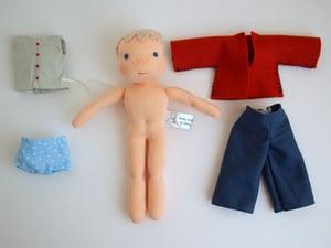 Image of Matthew doll