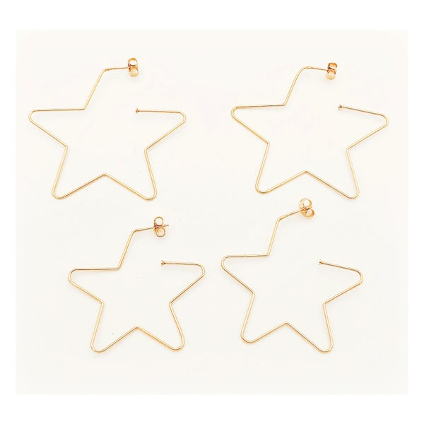 Image of Turi stars earrings