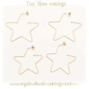 Image of Turi stars earrings