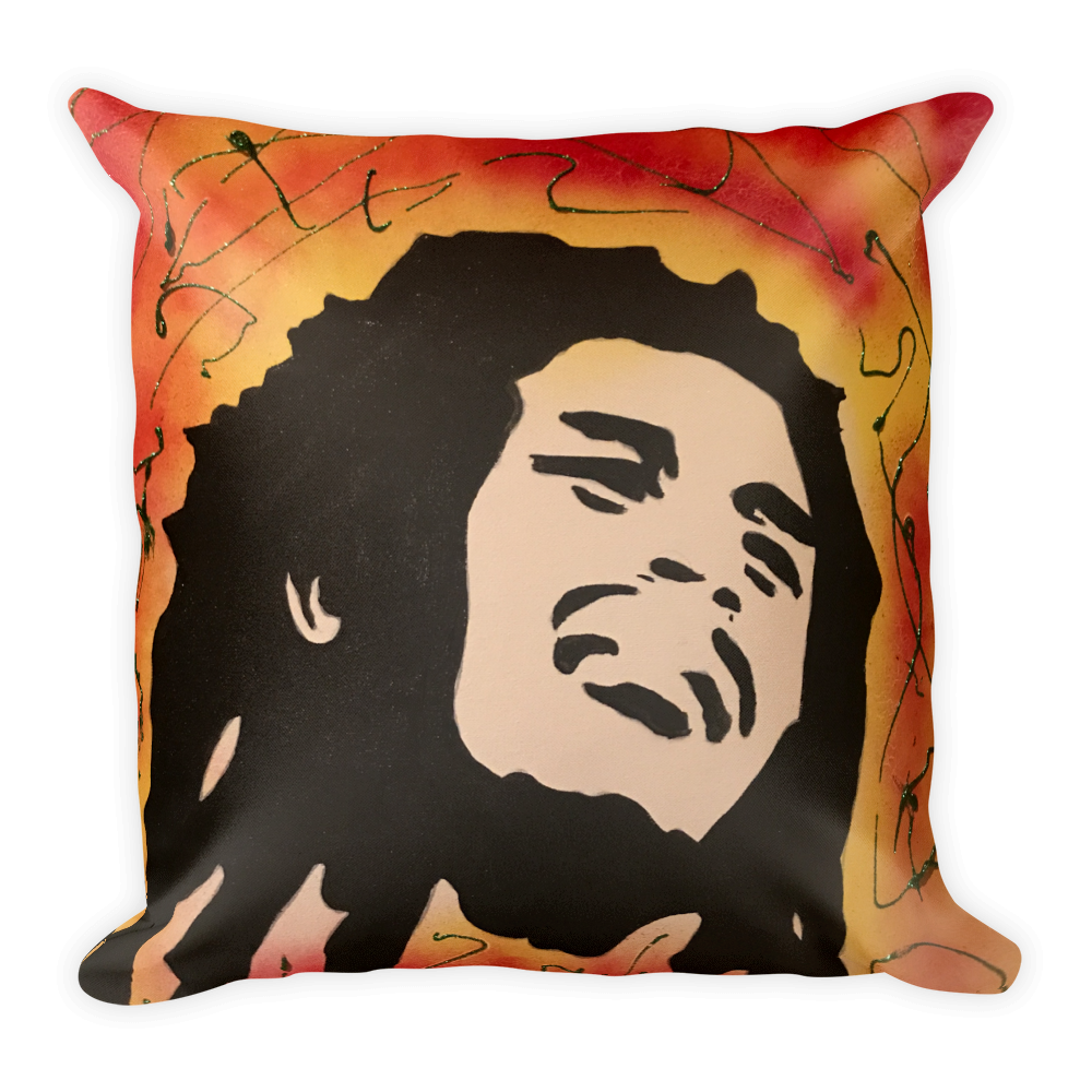 Image of BOB MARLEY PILLOW