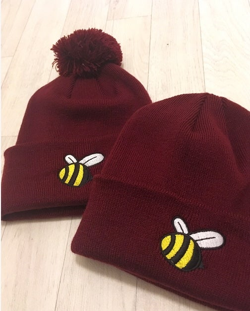 Image of The Burgundy Beenie
