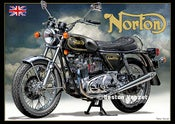 Image of 1974_Norton_Commando_Black_motorcycle_poster