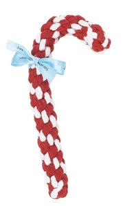 Image of Candy Cane Rope Toy in the category  on Uncommon Paws.