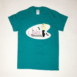 Image of SALE - Jinkx Teal T-Shirt