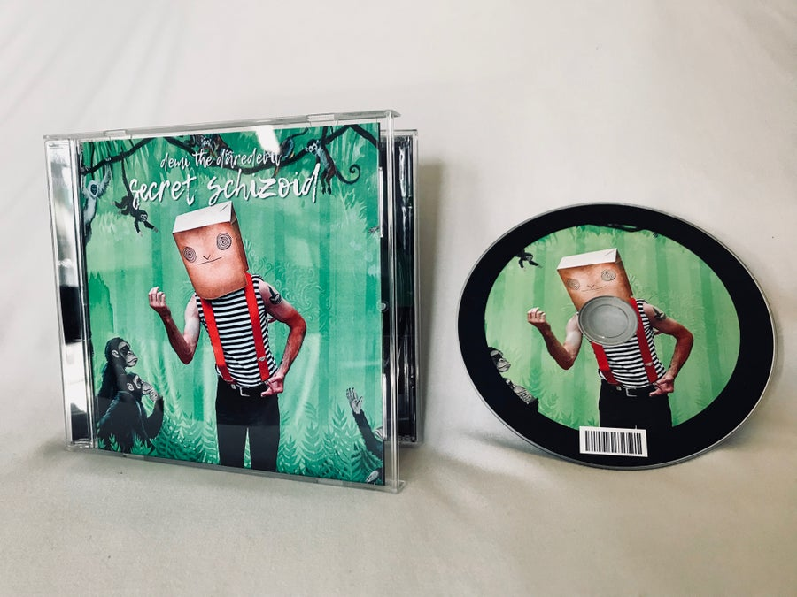 Image of Signed Secret Schizoid CD