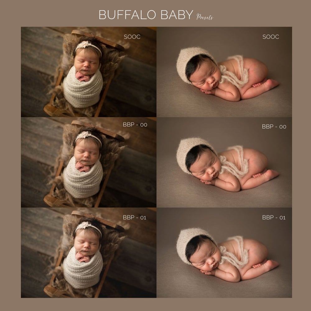 Image of Buffalo Baby Presets LIGHTROOM