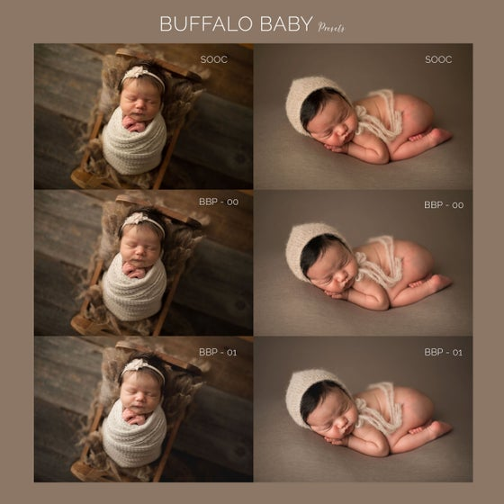 Image of Buffalo Baby Presets Vol. 1 CAMERA RAW (ACR)