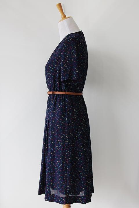 Image of SOLD Rainbow Confetti Classy Dress