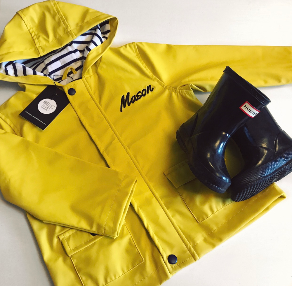 Image of PERSONALISED RAINCOAT