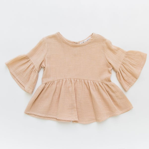 Image of Indi Bell Sleeve Top