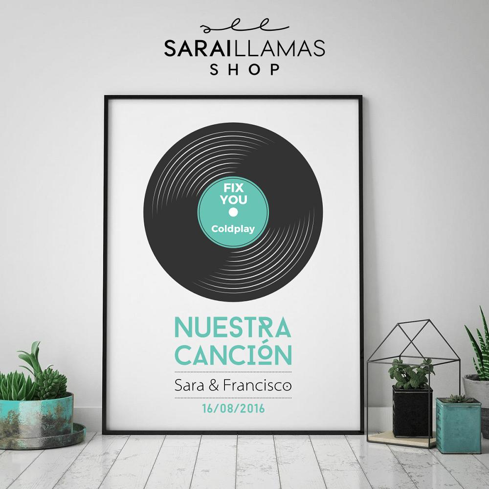 """Image of Lámina """"Nuestra Canción"""""""