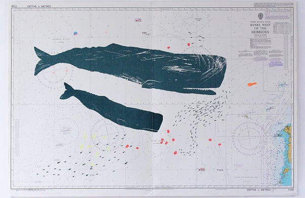 Image of Rockall 3 screen print