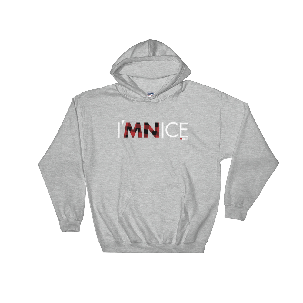 Image of I'MNICE Hooded Sweatshirt - More Colors Available